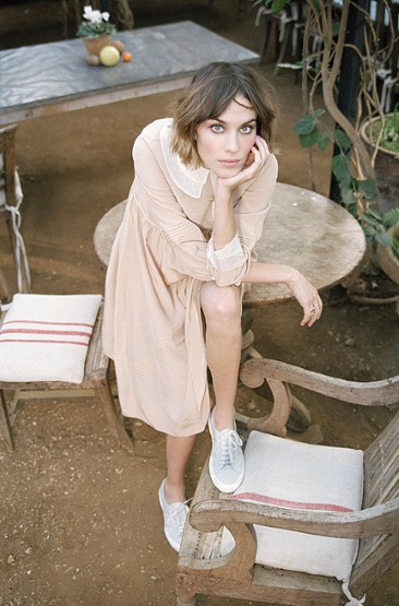 Superga-Alexa-Chung-Dress