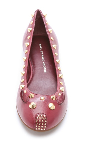 Marc-By-Marc-Jacobs-Studded-Mouse-Flats