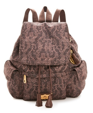 Juicy-Couture-Snakeprint-Backpack
