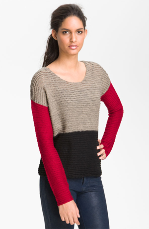 Kensie-Colorblock-Sweater