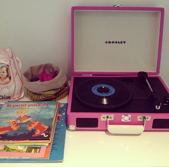 Crosley-Recordplayer