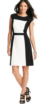 Loft-Colorblock-Dress