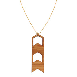 Sm Chevron Necklace