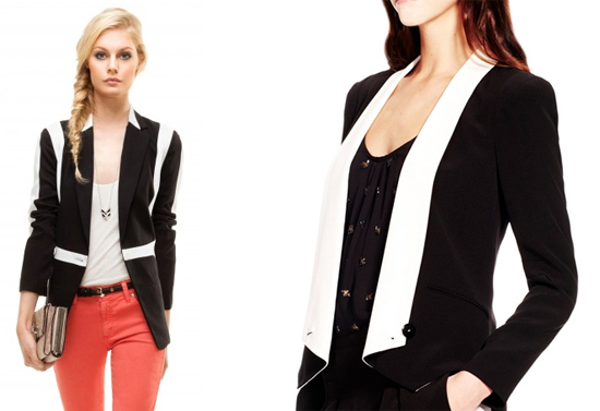 Black-And-White-Rebecca-Minkoff-Blazers