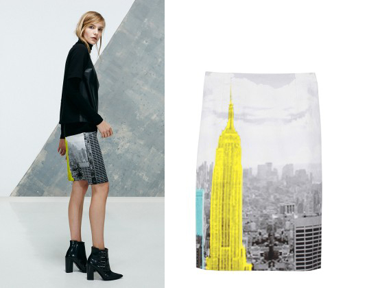 Tibi2013-Prefall-Empirestate-Skirt