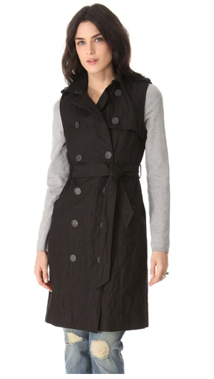 Gryphon-Knit-Sleeve-Trench