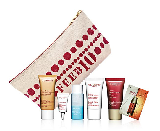 Clarins-Feed-Bag-Samples