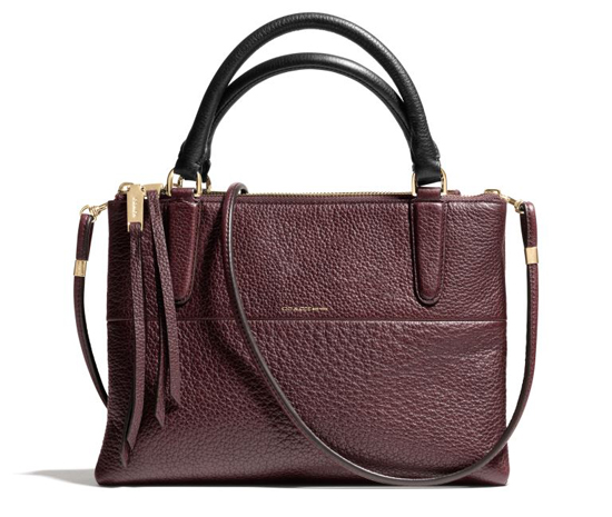 Coach-Fw2013-Pebbled-Mini-Borough-Oxblood