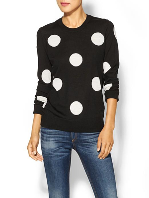 Equipment-Shane-Polkadot-Sweater
