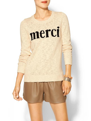 Merci-Sweater