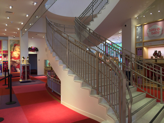 American-Girl-Sf-Staircase