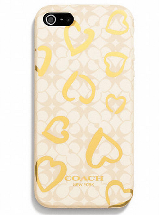 Coach-Iphone5-Heart-Case
