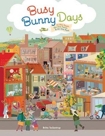 Busy-Bunny-Days 9781452117003 Cover