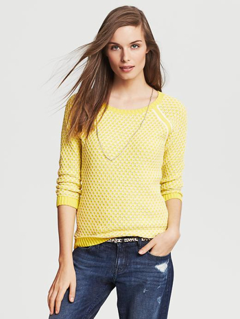 Two-Tone-Textured-Pullover