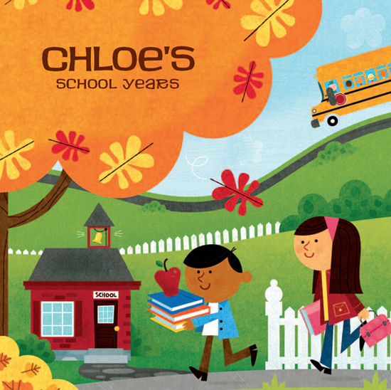 Chloe-School-Years-Book