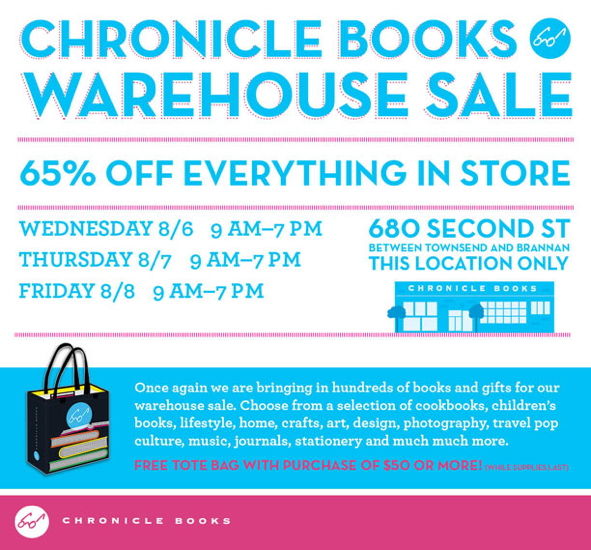Chronicle-Books-Warehouse-Sale
