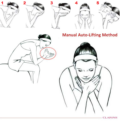 Clarins-Manual-Auto-Lifting-Method