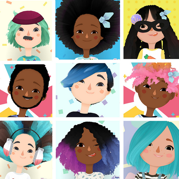 Toca-Hairsalon-Characters