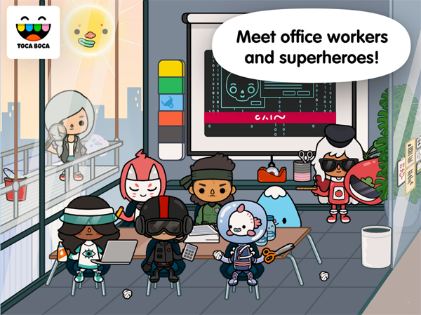 Toca-Life-Office-Superheros