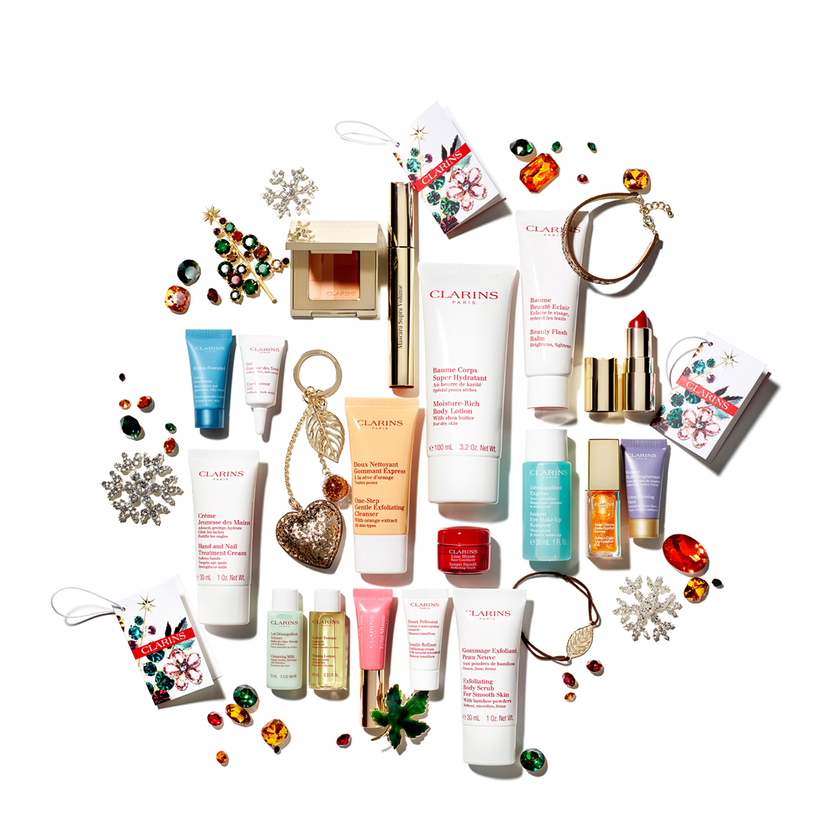 Clarins-Advent-Contents