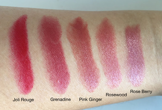 Clarins-Jolirouge-Swatches