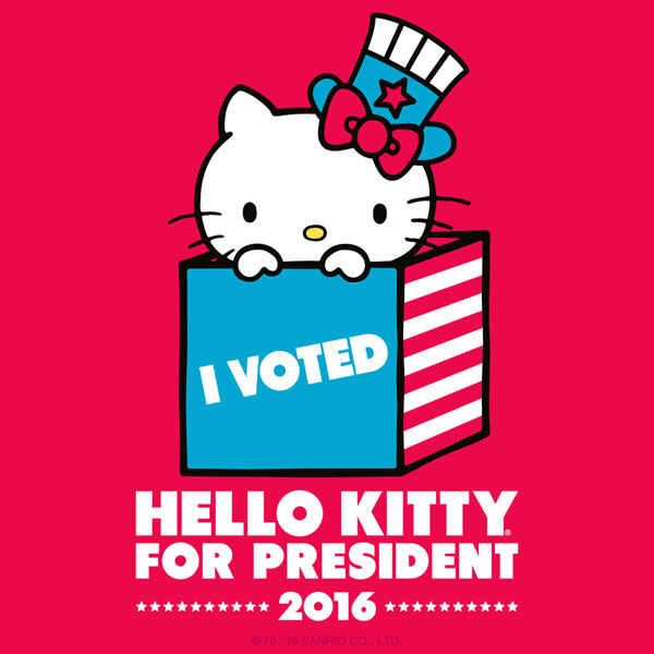 Hello-Kitty-President-I-Voted