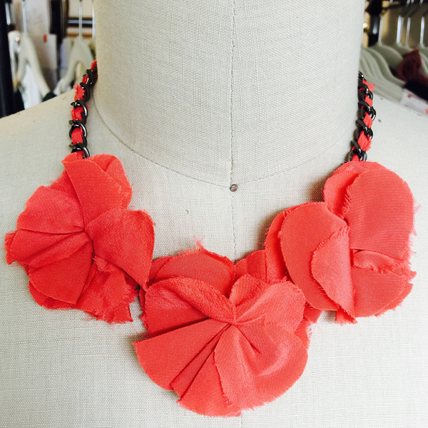 Cecily-Coral-Silk-Necklace