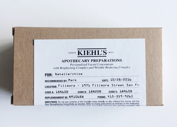Kiehls-Package