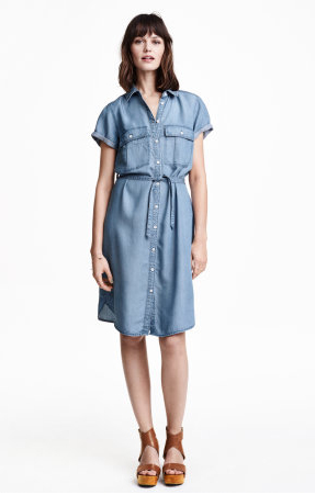 H&M-Denimdress
