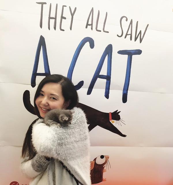 Natalie-Cat-Chroniclebooks-They-All-Saw-A-Cat