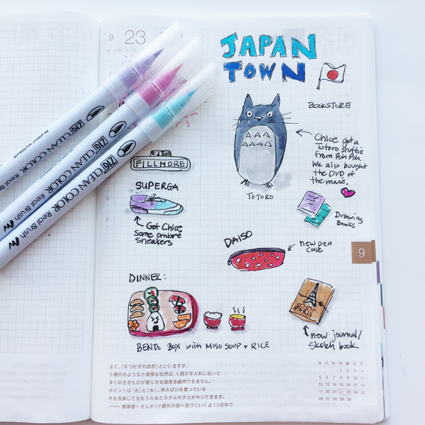 Hobonichi-Journal-Japantownpage