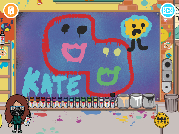 Toca-Life-Afterschool-Kate