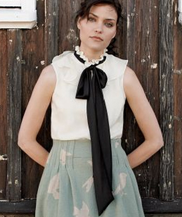 Anthropologie Bowtop