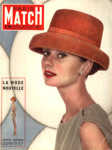 Audrey Parismatch