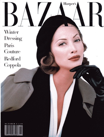 Bazaar Christy Oct92
