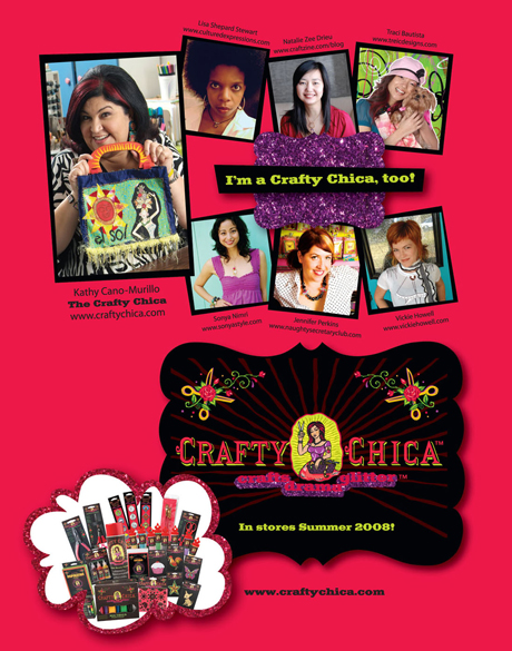 Crafty Chica Ad Bust1