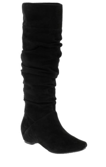 Kenneth Cole Suede Slouchy Boots