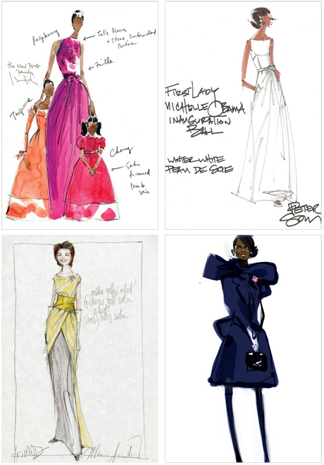 Michelleobama Wwd Sketches