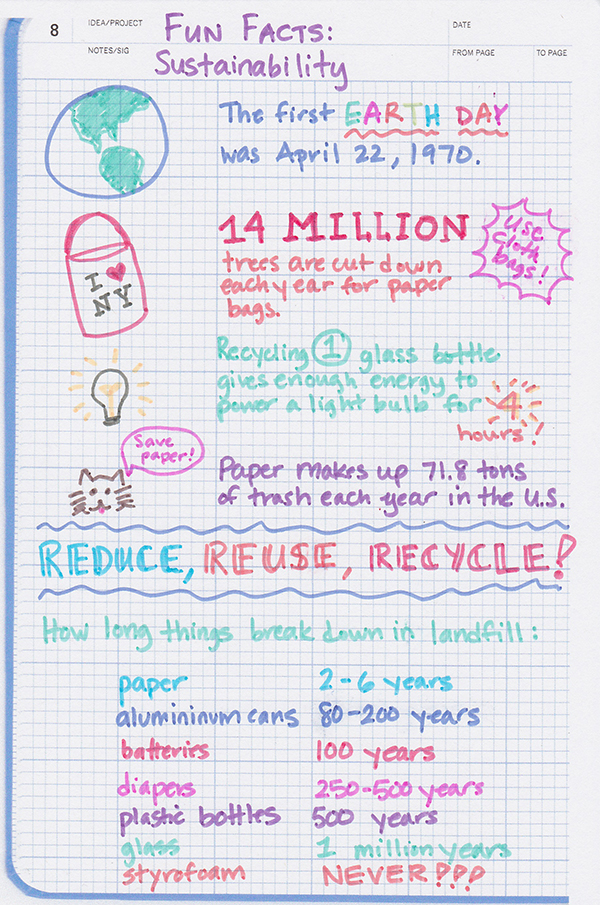 Sustainability Fun Facts
